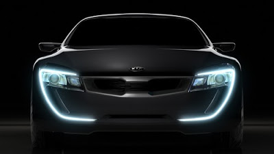 Kia Coupe Concept teaser image