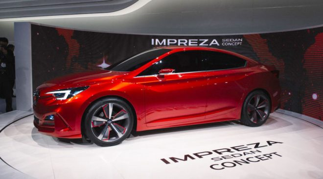 Impreza Concept Looks Great and Teases All Future Subarus, Skin to Bones