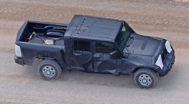 Every Angle of the Jeep Wrangler Pickup Truck