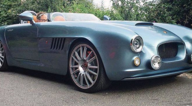 The Bristol Bullet Is a British Speedster With a 400HP V8 and a Tiny Windshield