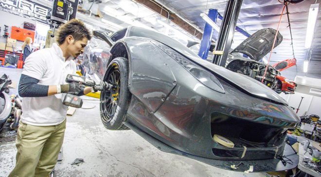 Meet the world's strangest Ferrari 458