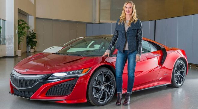 Meet the woman in charge of designing the Honda NSX supercar