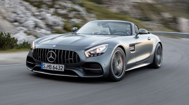 2017 Mercedes-AMG GT Roadster and GT C Roadster revealed