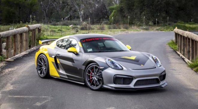 Vorsteiner Porsche Cayman GT4