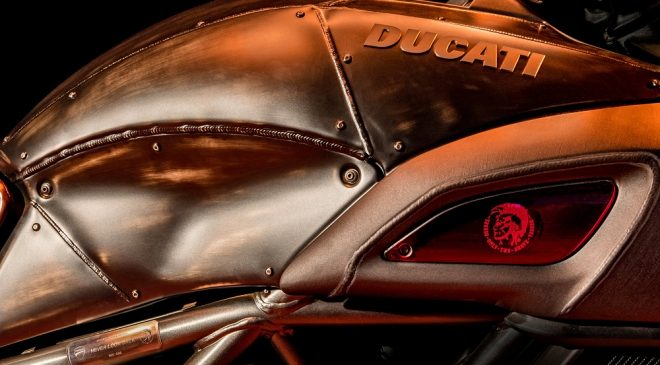 Diesel & Ducati team up for new Diavel motorbike