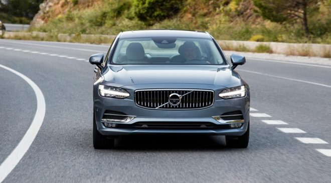 New Volvo S90 saloon 2017 review