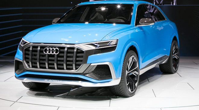 Audi Q8 Concept First Look: Getting in on the Fastback SUV Game