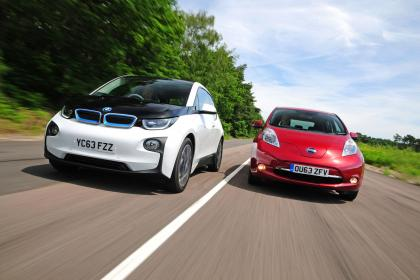 BMW i3 vs Nissan Leaf Battle of  the EV's in SA