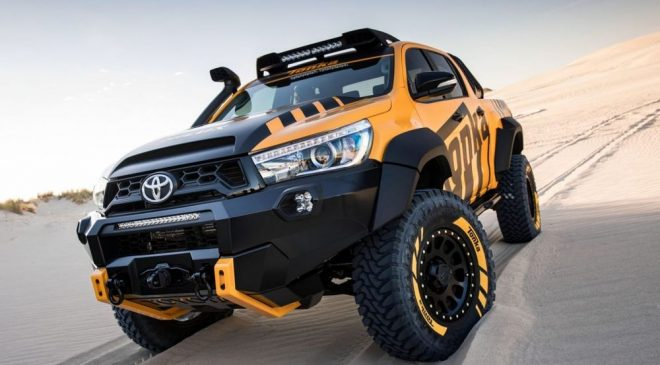 Toyota has unleashed its inner-child to create a real-life Tonka truck.