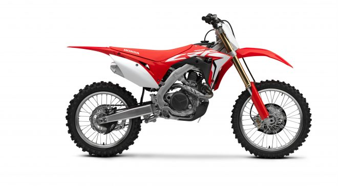 Honda updates CRF450R