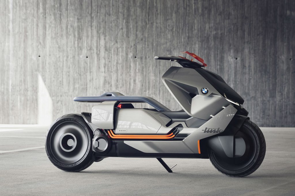 BMW's new 'Concept Link' scooter