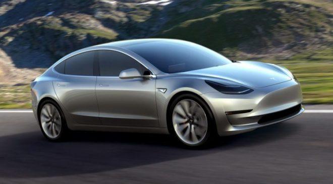 Tesla Model 3 details leaked online
