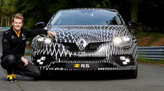 Renault shows off new Megane RS in Monaco