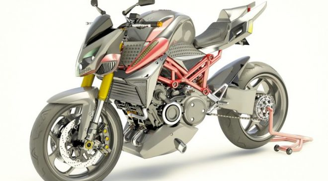 French company developing rotary-engined hybrid motorcycle
