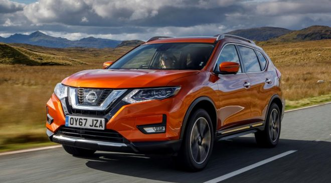 The New Nissan X-Trail 2017 face lift has arrived