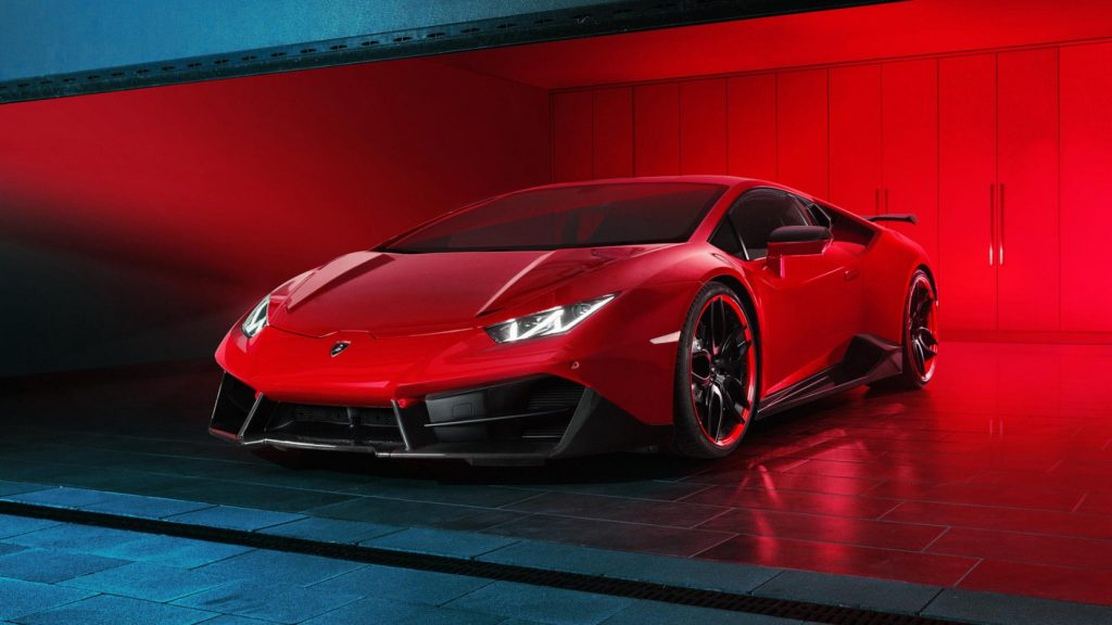 This is a rear-drive modified Lambo with 610Kws