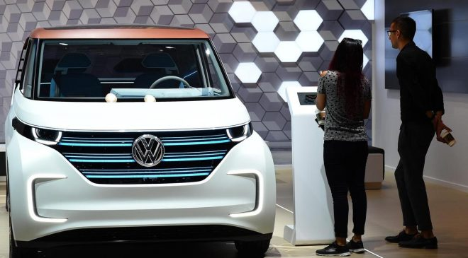 China stakes claim on electric car market with 100 new models at auto show