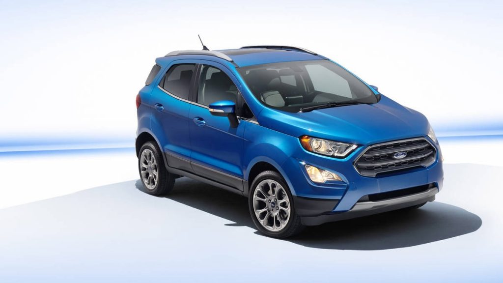Cute, Fun and adventurous Ford Ecosport Gets a Nip and Tuck for 2018