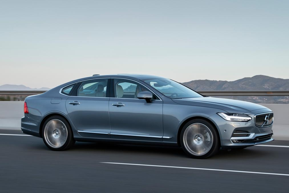 New Volvo S90 saloon 2017 review | Car And Bike