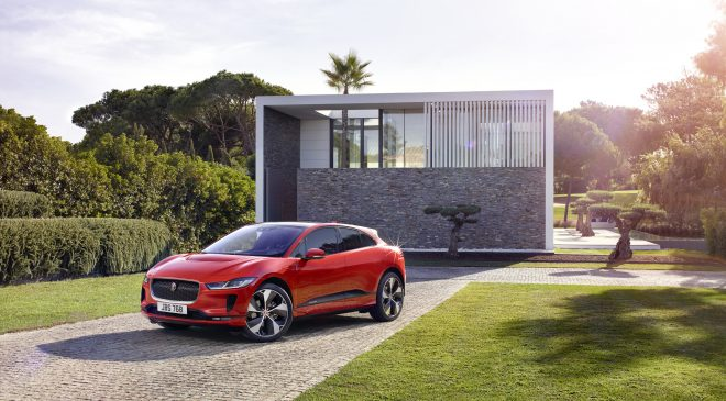 Designed from the outset as an electric vehicle (EV), the I-PACE offers bold aero-efficient design