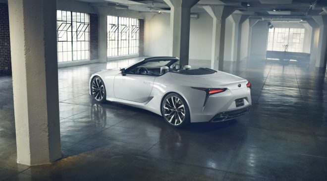 Open-top concept suggests future direction of the Lexus LC flagship coupe