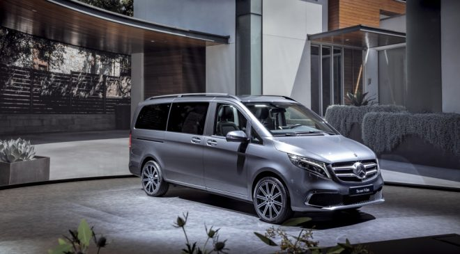 Mercedes-Benz V-Class facelift: Pricing and Spec (2019)