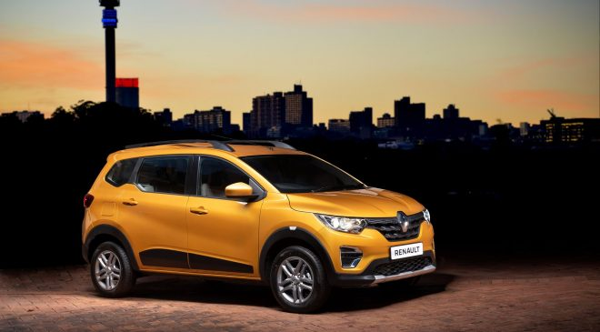 The new Renault TRIBER presents South Africa with a unique offering…..
