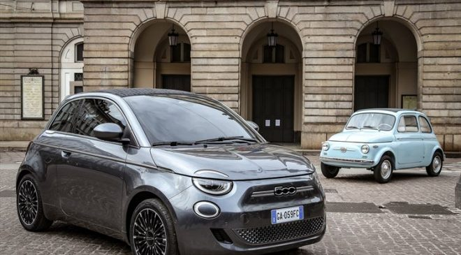 All new FIAT 500 3rd generation and the first full electric FCA Car