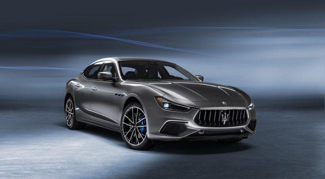 New Maserati Ghibli Hybrid.