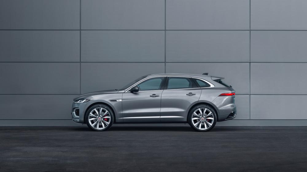 All New Jaguar F-Pace(2021)