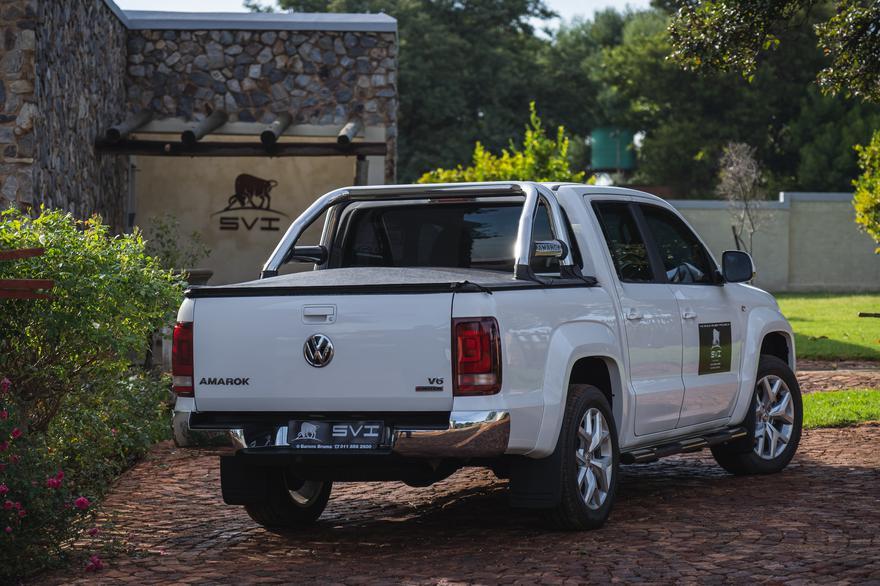 Powerful Volkswagen Amarok now Bullet Proof