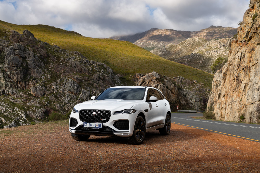 Enhanced Jaguar F-PACE SUV now in South Africa